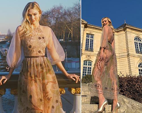 Karlie Kloss Karlie Kloss incanta alla sfilata Dior