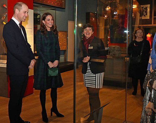 Kate Middleton 1 Kate Middleton sceglie il tartan in Scozia
