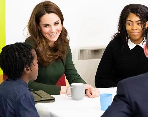 Kate middleton 1 Kate Middleton in verde a Londra