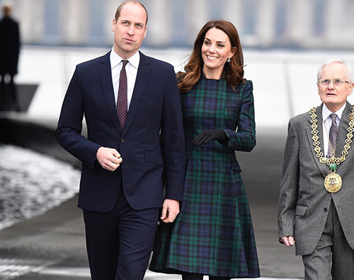 Kate middleton2  Kate Middleton sceglie il tartan in Scozia