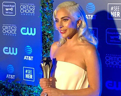 Lady Gaga 1 Critics Choice Awards