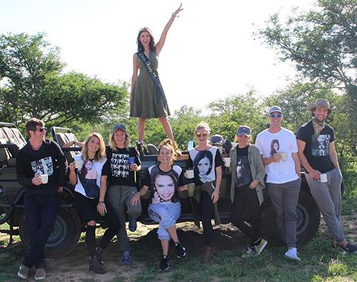 Nina 4 Nina Dobrev festeggia i suoi 30 anni in Sudafrica