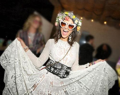 Nina Dobrev 6 Nina Dobrev, party in stile Coachella per i suoi 30 anni
