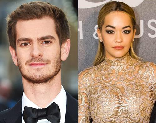 Rita Ora Rita Ora e Andrew Garfield sono una coppia?
