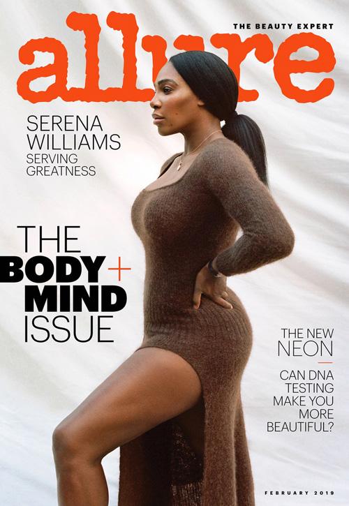 Serena Williams Serena Williams è la star di Allure