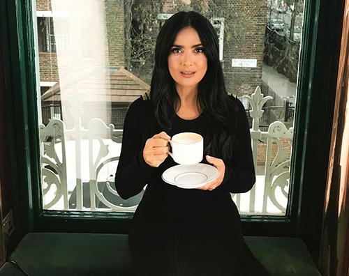 salma hayek Salma Hayek fascinosa a Londra