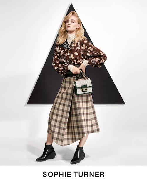 sophie turner Sophie Turner posa per Louis Vuitton