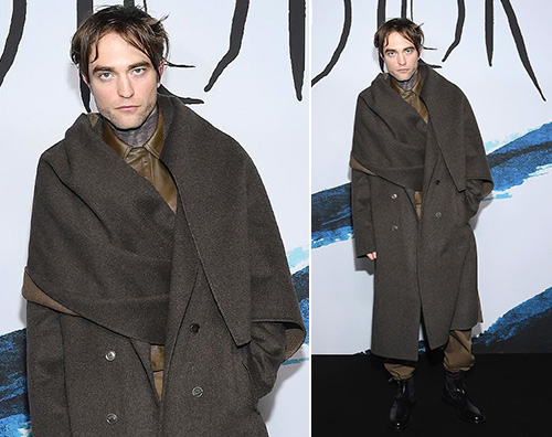 Robert Pattinson Robert Pattinson, nuovo look da Dior