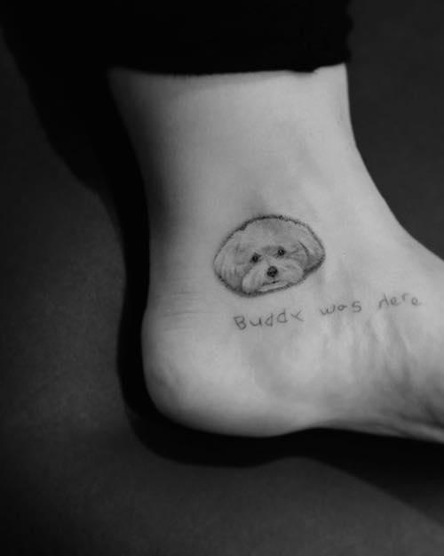 51050483 309659256559811 5826653087226800022 n Demi Lovato dedica un tattoo al suo cane