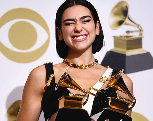 Dua Lipa 2 1 Grammy Awards 2019: la lista dei vincitori