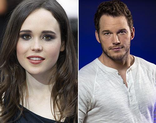 Ellen Page Chris Pratt Ellen Page si scaglia contro Chirs Pratt e lui si difende
