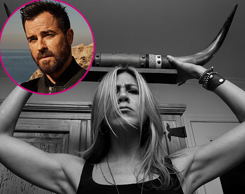 Justin Theroux Jennifer Aniston Justin Theroux augura buon compleanno a Jennifer Aniston