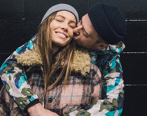 Justin e Jessica Justin Timberlake e Jessica Biel romantici per San Valentino