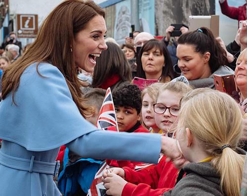 Kate Middleton 1 Kate Middleton stilosissima a Ballymena