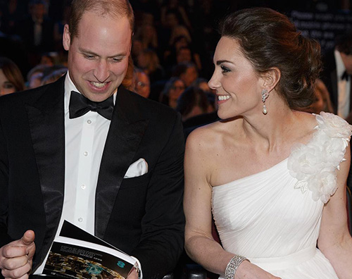 Kate Middleton 3 Kate Middleton in bianco ai BAFTA 2019