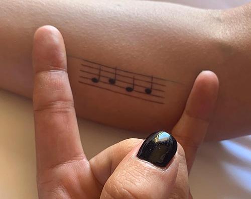 Lady Gaga 2 Lady Gaga mostra i suoi nuovi tattoo su Instagram