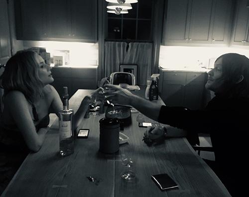 Norman Diane 1 Norman Reedus condivide una rara foto di Diane Kruger su Instagram