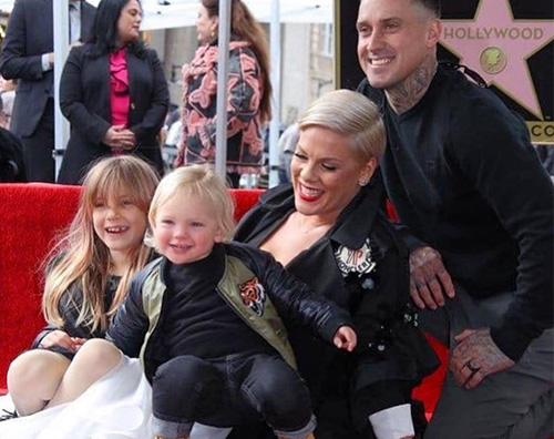 Pink Pink ha la sua stella sulla Walk Of Fame