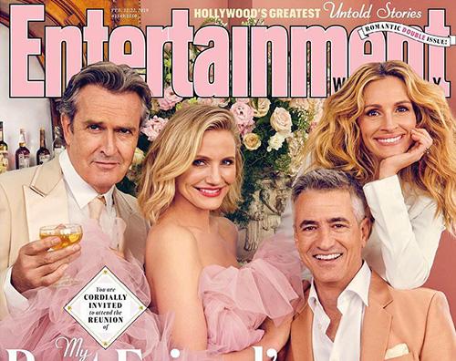 """il matrimonio del mio migliore amico reunion """"Il Matrimonio del mio migliore Amico"""" reunion su EW Magazine"""