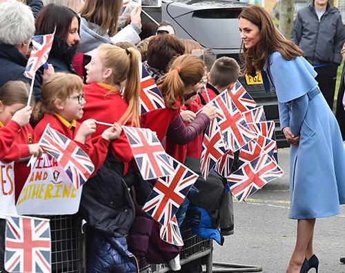kae middleton 2 Kate Middleton stilosissima a Ballymena