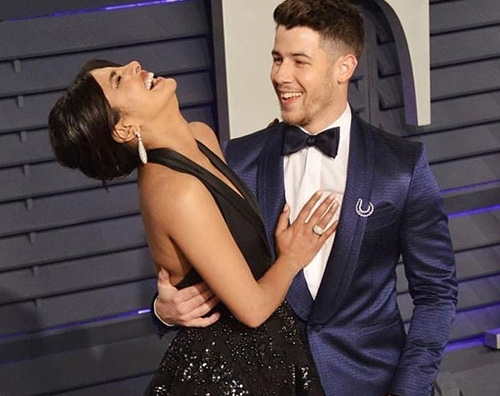 vf priyanka nick Oscar 2019: I look più hot degli afer party