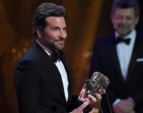 Bradley Cooper Bradley Cooper premiato ai BAFTA 2019