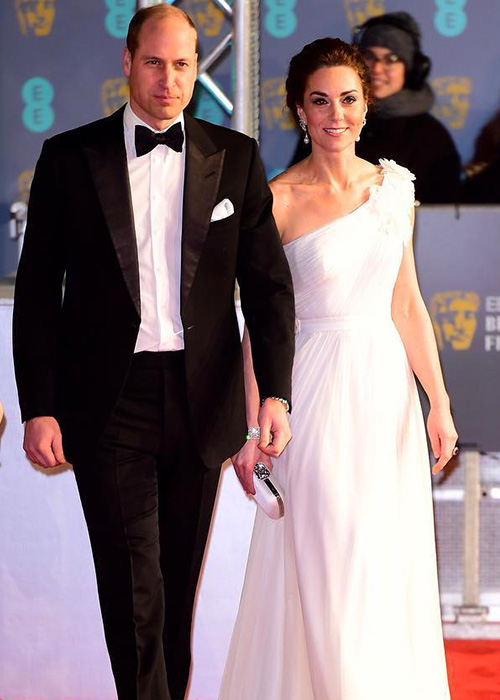 Kate Middleton 2 Kate Middleton in bianco ai BAFTA 2019