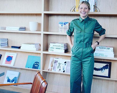 Gwyneth Paltrow Gwyneth Paltrow ha un nuovo ufficio