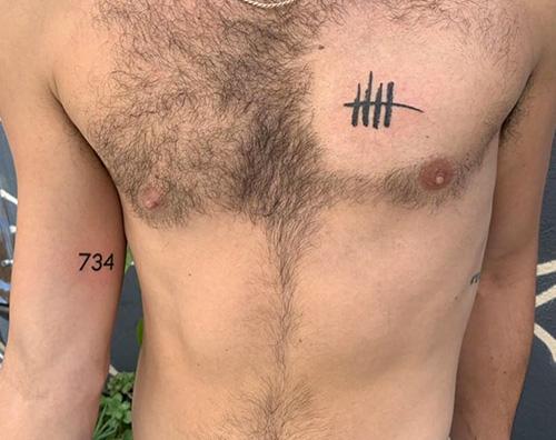 Jack Falahee 2 Jack Falahee ha due nuovi tattoo