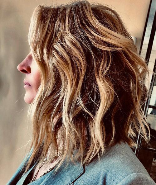 Julia Robers Julia Robets ha un nuovo taglio di capelli