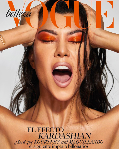 Kourtney Kardashiab Kourtney Kardashina su Vogue Bellezza Messico