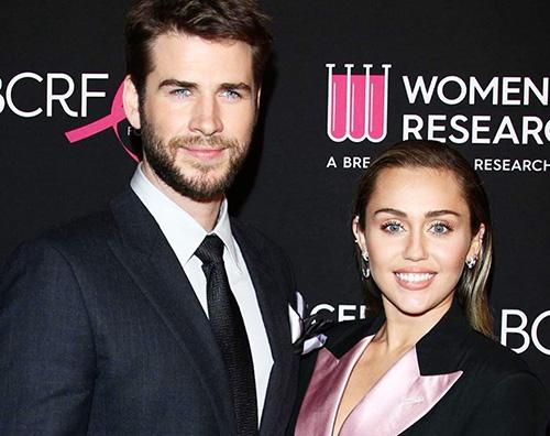 Liam Miley 2 Miley e Liam red carpet di coppia contro il cancro al seno
