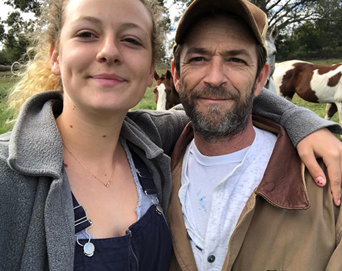 Luke pERRY La figlia di Luke Perry risponde agli hater dopo la morte del padre