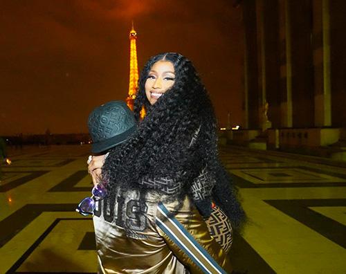 Nicki Minaj 2 Nicki Minaj, serata romantica a Parigi