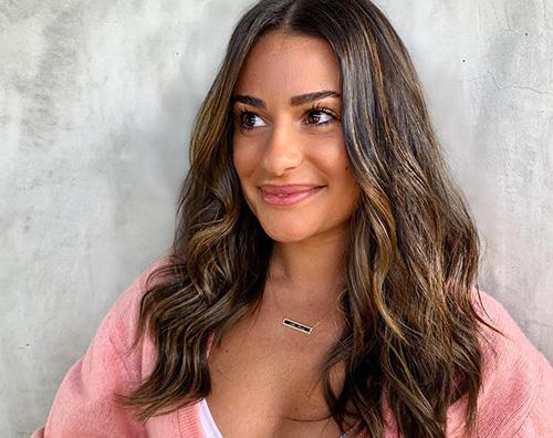 lea michele Lea Michele affronta la perdita dei capelli dopo il parto