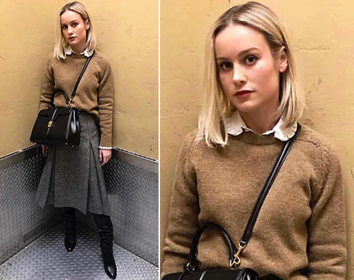 Brie Larson Brie Larson stilosa a New York