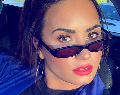 Demi Lovato Demi Lovato in un nuovo selfie su Instagram