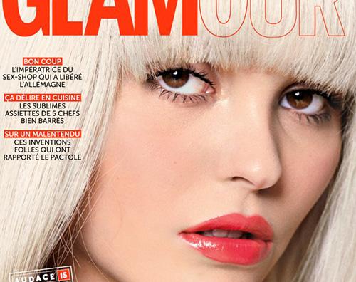 Lily Rose Depp Cover Lily Rose Depp su Glamur Paris