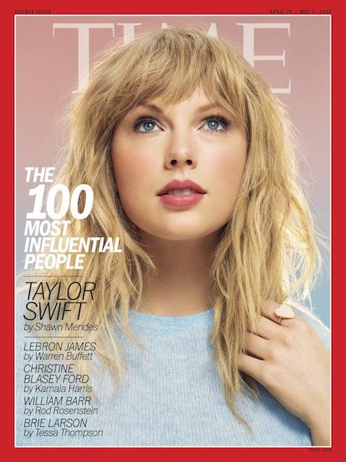 tmp fv06lv 7080bb7315c2f47c SWIFT Taylor Swift è tra le 100 persone più influenti secondo il Time