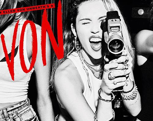 Miley Cover Miley Cyurs bollente per Ellen von Unwerth
