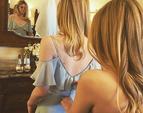 dakota e elle fanning Dakota Fanning festeggia il compleanno di Elle su Instagram