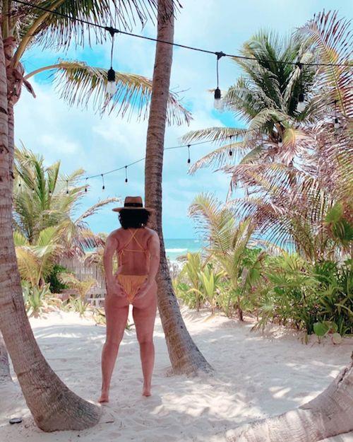 59839451 227835714840692 3282288246095059028 n Ashley Graham in bikini sulle spiagge del Messico