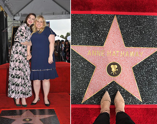 Anne Hathaway Anne Hathaway ha una stella sulla Walk Of Fame