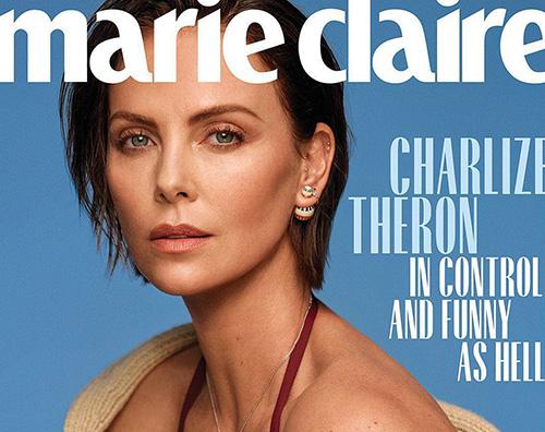 Charlize Cover Charlize Theron A 20 anni mi drogavo