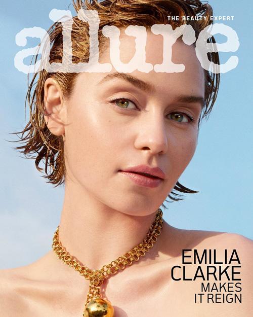 Emilia Claeke 1 Emilia Clarke è mora su Allure Magazine