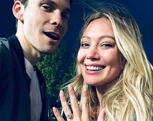 Hilary Duff 2 Hilary Duff si è fidanzata!