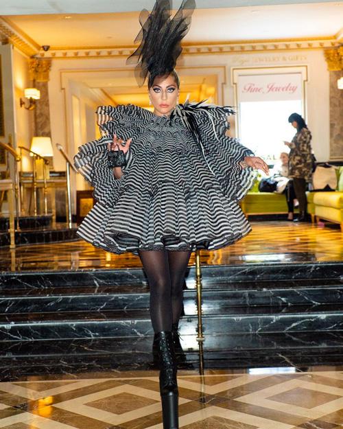 Lady Gaga Lady Gaga è arrivata a NY per il Met Gala 2019