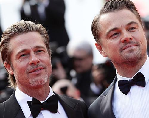 Leo e Brad 2 Leo e Brad arrivano a Cannes