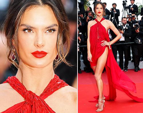alessandra ambrosio Alessandra Ambrosio, spacco hot a Cannes