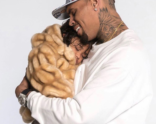 chris brown Chris Brown festeggia il compleanno di Royalty